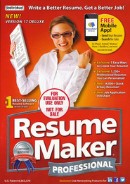 ResumeMaker Professional Deluxe 17 Download